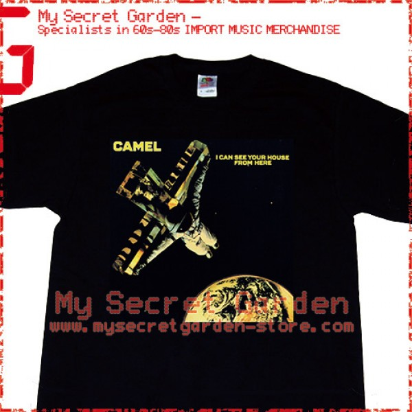 Camel - I Can See Your House From Here T Shirt