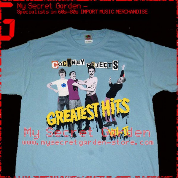 Cockney Rejects - Greatest Hits Vol. II T Shirt