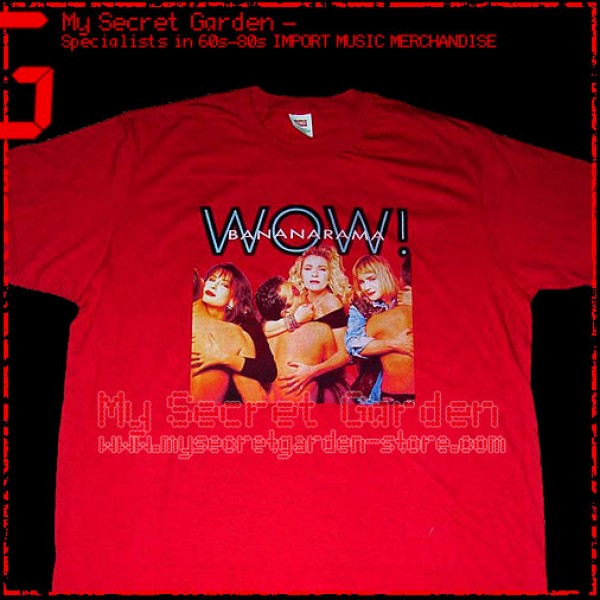 Bananarama - Wow ! T Shirt