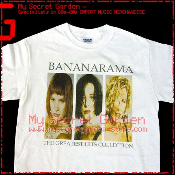 Bananarama - The Greatest Hits Collection T Shirt