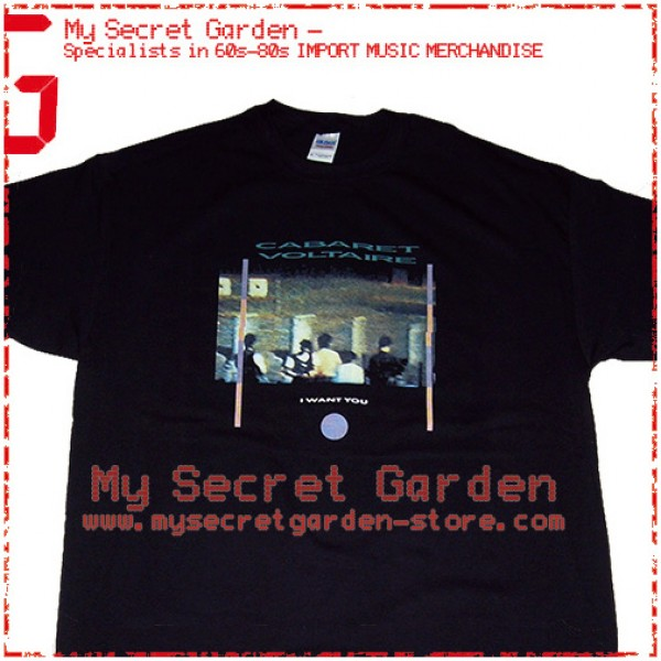 Cabaret Voltaire - I Want You T Shirt