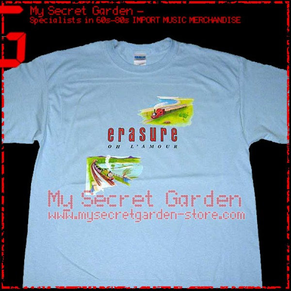 Erasure Oh L Amour T Shirt