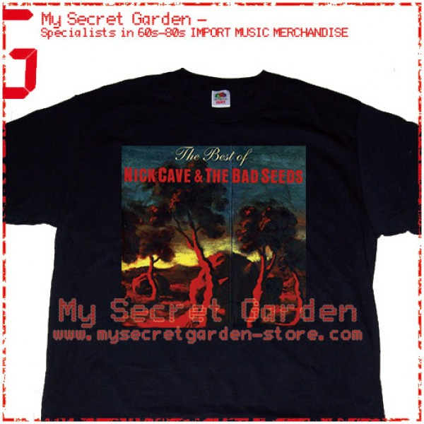 Nick Cave And The Bad Seeds The Best Of T Shirt