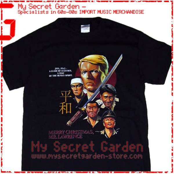 david bowie merry christmas mr lawrence movie t shirt - David Bowie Christmas