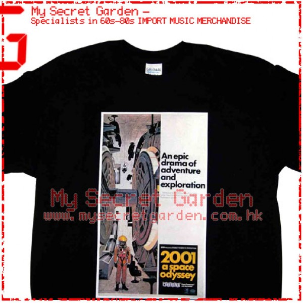 2001 A Space Odyssey - Movie T Shirt
