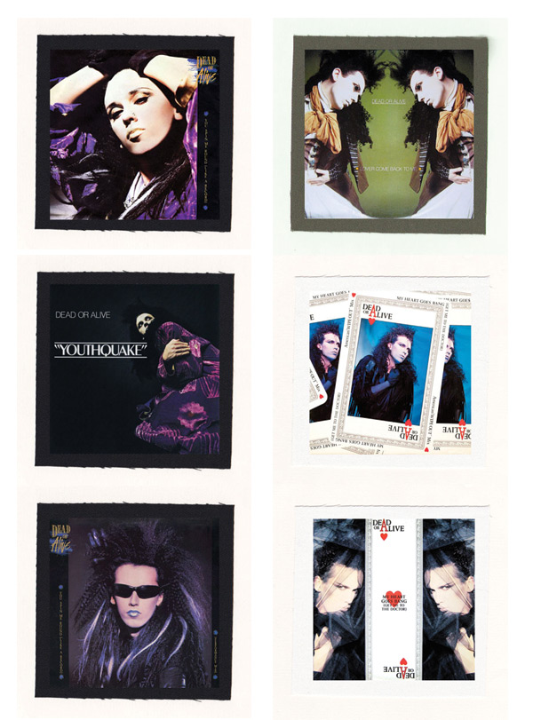 Dead Or Alive Youthquake Cloth Patch Or Magnet Set